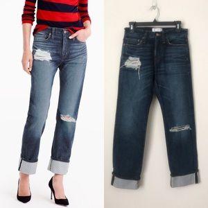 J. Crew x Net A Porter Point Sur Boyfriend Jeans